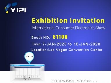 2020年与YIPI相约美国拉斯维加斯CES国际消费电子展