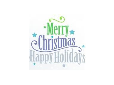 新一派祝大家圣诞节,元旦节快乐!