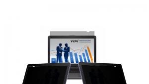 厂家批发定制电脑屏四面防窥膜保护膜,适用于品牌笔记本电脑 17.3英寸