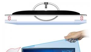 厂家批发定制18.5寸亚克力防蓝光保护屏(410mm*231mm)